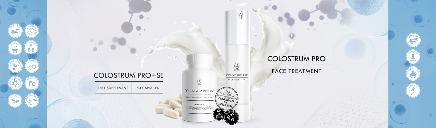 Крем Colostrum Face Treatment Lambre Молозиво для лица Ламбре