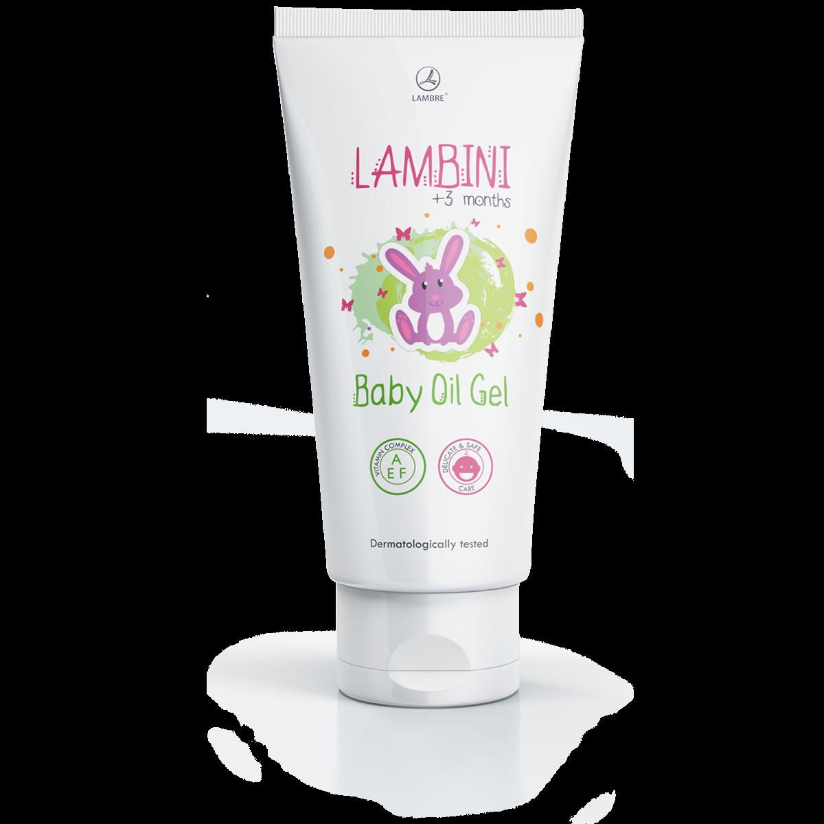 LAMBINI BABY OIL GEL Lambre Гель-масло для детей Ламбре
