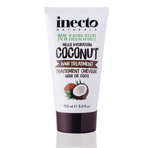 Inecto Naturals Coconut Hair Treatment Увлажняющая маска  для волос с маслом кокоса Ламбре