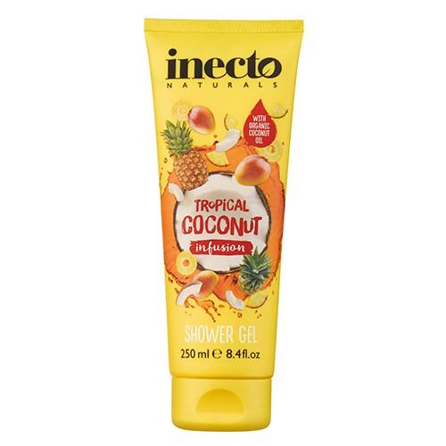 Inecto Infusions Tropical Coconut Shower Gel Гель для душа Тропический кокос Ламбре