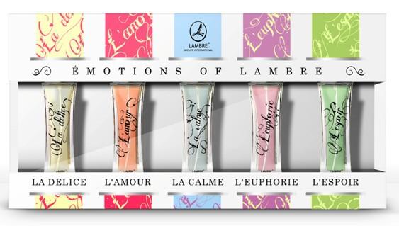 """Набор духов  """"Эмоции от Lambre """" ÉMOUTIONS DE LAMBRE"""